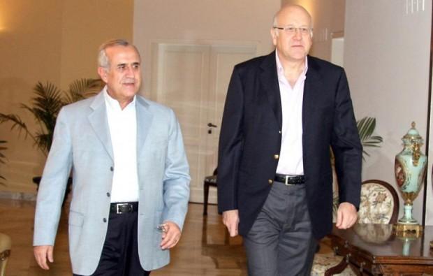 Najib Azmi Mikati  With Jim W. Dean