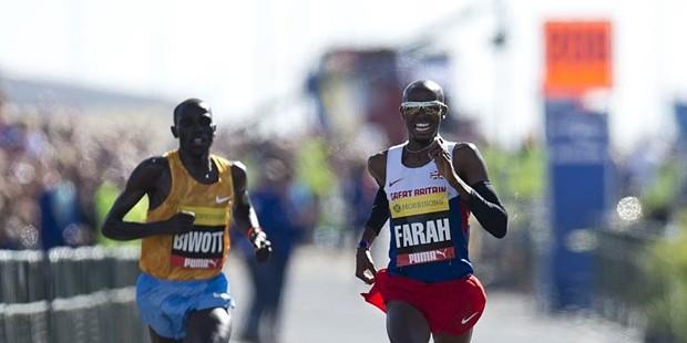 Stanley Biwott With Mo-Farah