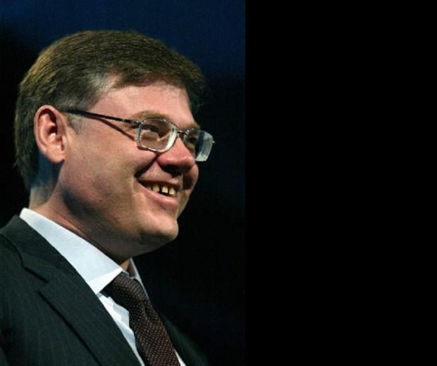 Alexander Abramov during Bloomberg