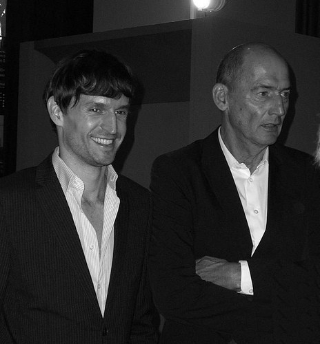 Ole Scheeren With Rem Koolhaas