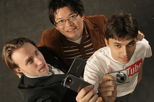 Chad Hurley, Steve Chen and Jawed Karim