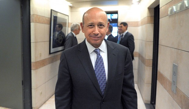 Lloyd Blankfein, Chairman of Goldman Sachs