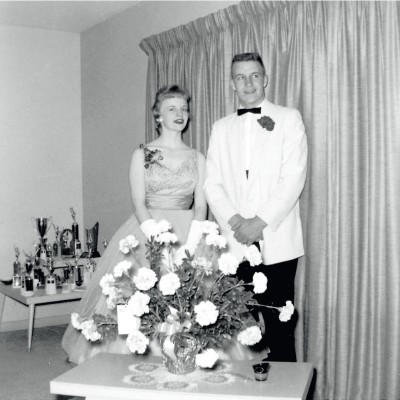 Lynne Vincent and Dick Cheney on prom night in 1959