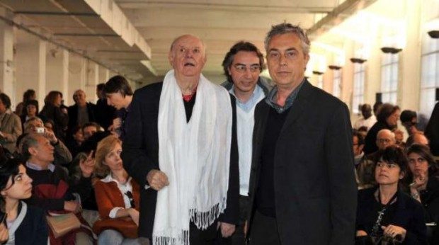 Dario Fo With Stefano Boeri