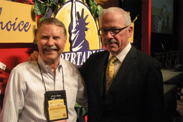Don Parrish with Bob Barr