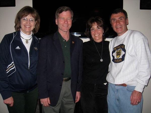 Bob McDonnell, Debi Dell with Pat Novitski