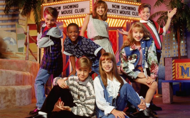 Christina Aguilera Featuring in the Mickey Mouse Club