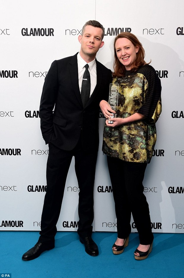 Paula Hawkins With Russell Tovey
