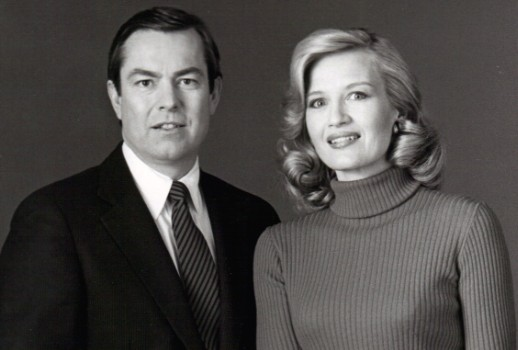 Bill Kurtis With Diane Sawyer