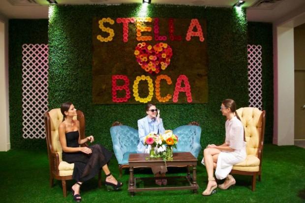 Stella McCartney with Boca