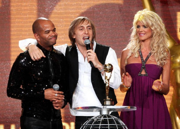 David Guetta, Chris Willis, with Victoria Silvested