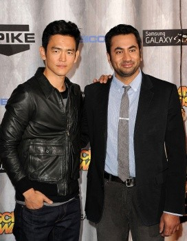 Actors John Cho (left) With Kal Penn