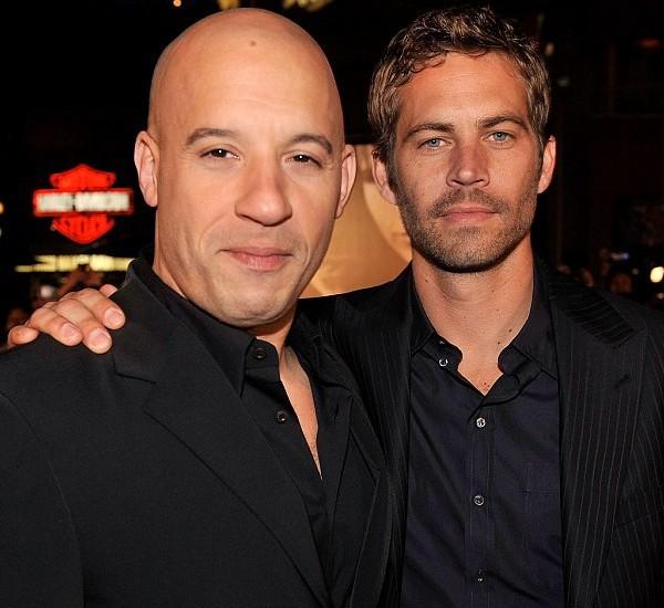 Paul Walker With Vin Diesel