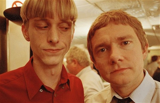 Martin Freeman With Mackenzie Crook