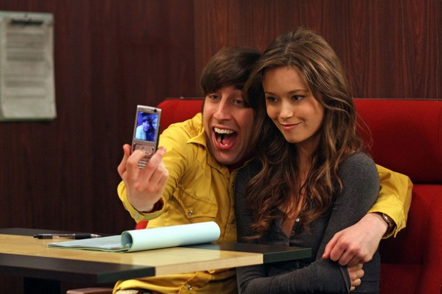 Simon Helberg with Summer Glau
