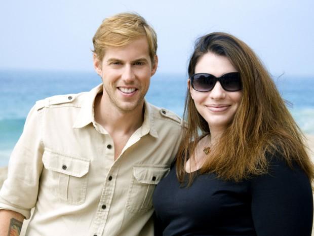 Andrew McMahon with Stephenie Meyer