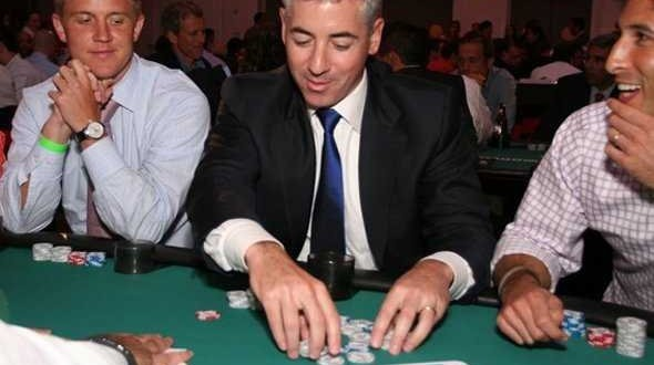 Bill Ackman at a Casino