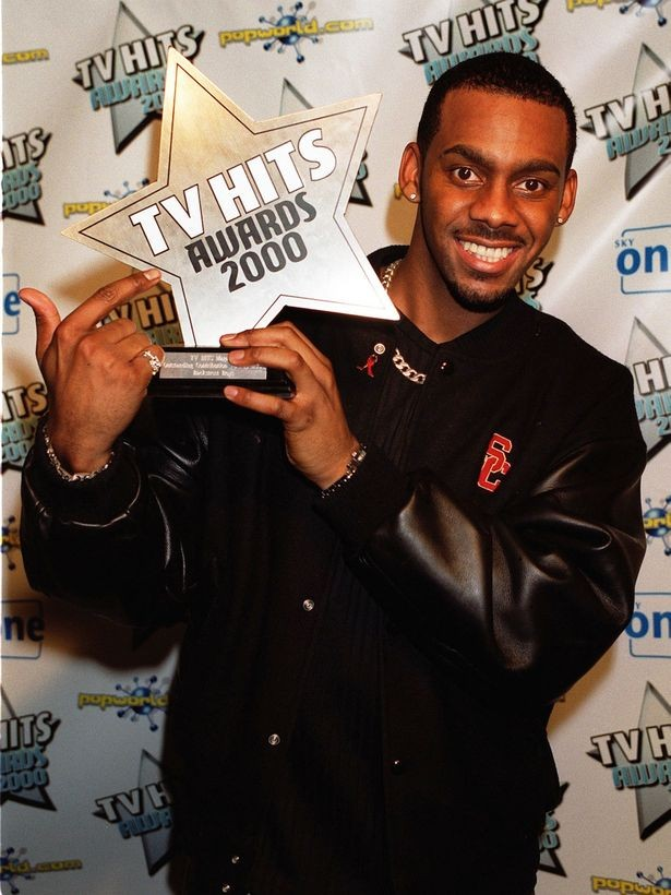 Richard Blackwood at Tv Hit Awards 2000
