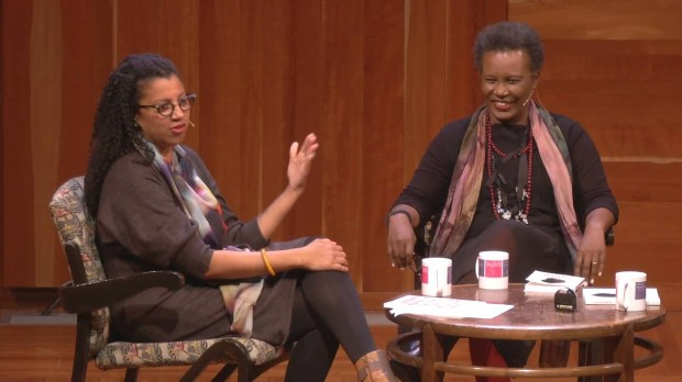 Robin Coste Lewis and Claudia Rankine