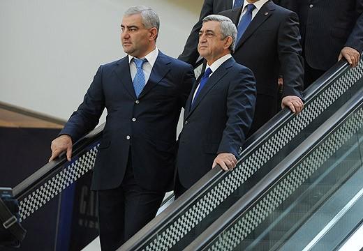 Samvel Karapetyan and Serzh Sargsyan