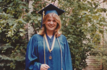 Tammy Baldwin at her Graduation Day