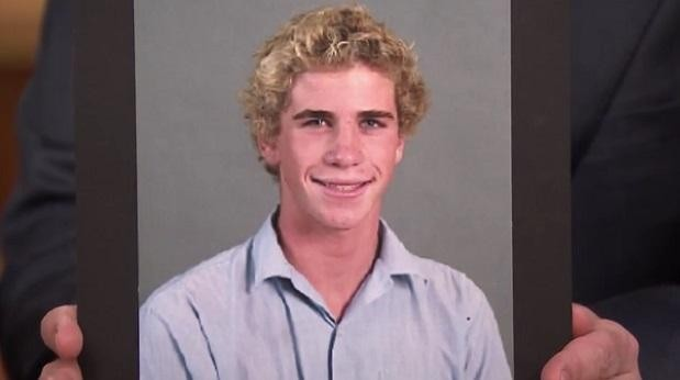 Liam Hemsworth in High School Days