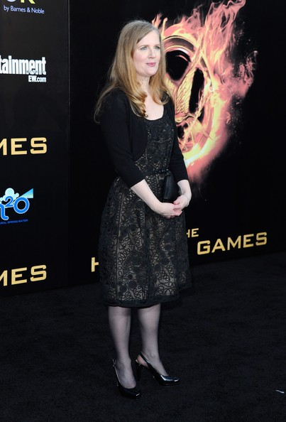 Suzanne Collins at Hunger Games Premiere