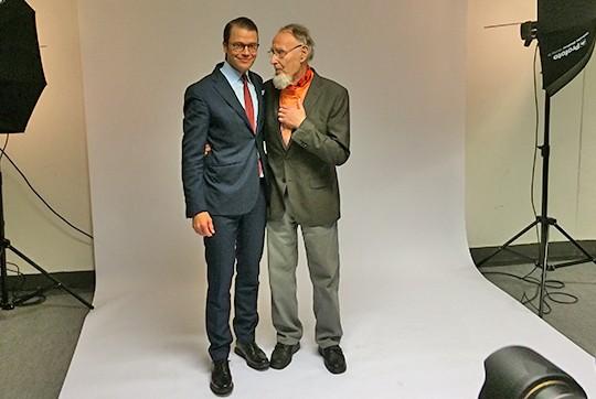 Ingvar Kamprad With Prince Daniel
