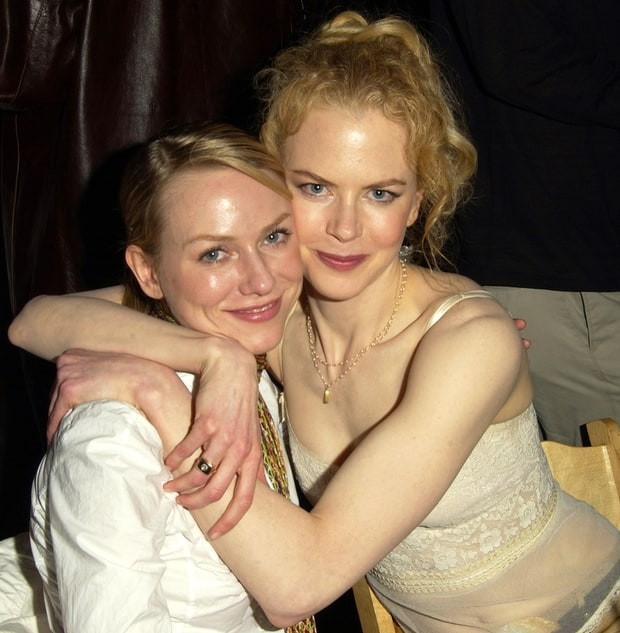 Naomi Watts With Nicole Kidman