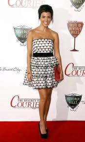 Kourtney Kardashian In HM Dress