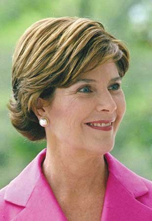 First Lady Author Laura Bush