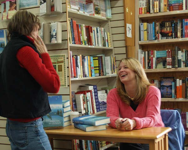 Booksigning at A Book For All Seasons in Leavenworth, Washington