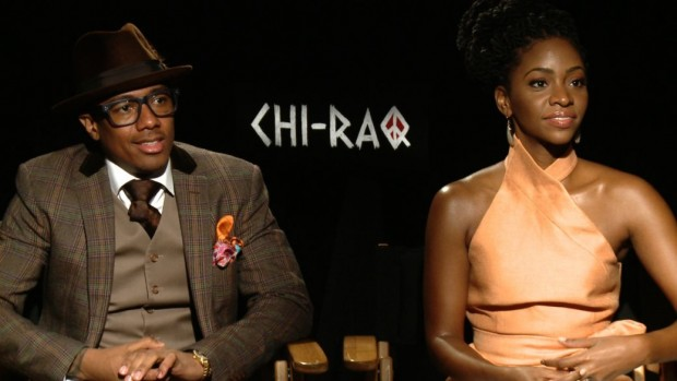 Nick Cannon And Teyonah Parris
