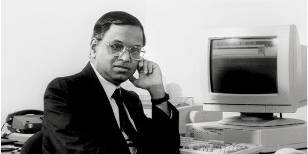 Narayana Murthy in His Earlly Career