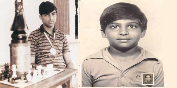 Viswanathan Anand Childhood Photos