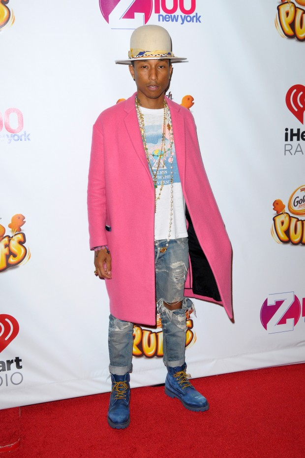 Williams At Jingle Ball 2014  Red Carpet