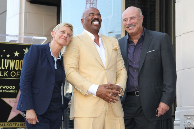 Phil With Actor Steve Harvey