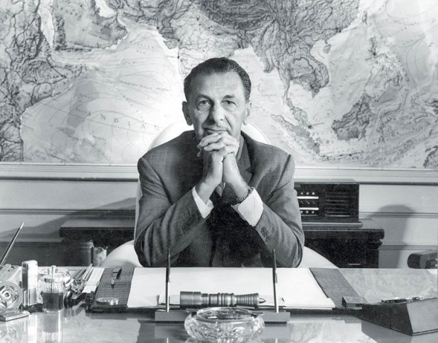 J.R.D. Tata at TATA In His Office