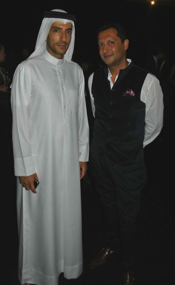 Wissam Al Mana With Dipesh Depala