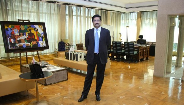 Kumar Mangalam Birla In His Office