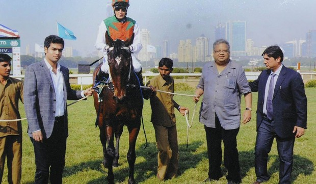 Rakesh Jhunjhunwala at Mumbai Horse Race Course