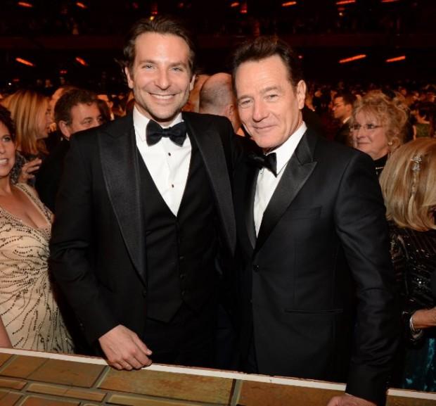 Bradley Cooper and Bryan Cranston