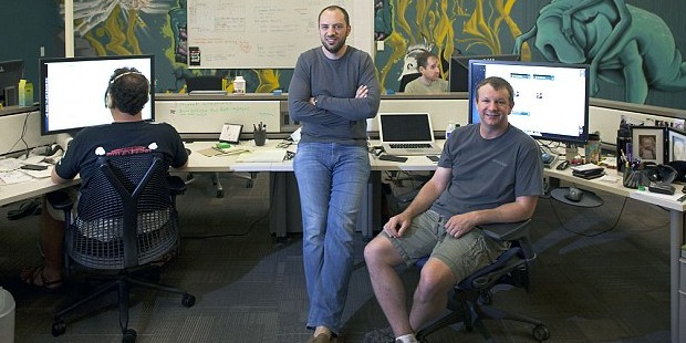 Whatsapp Founders Jan Koum and Brian Acton
