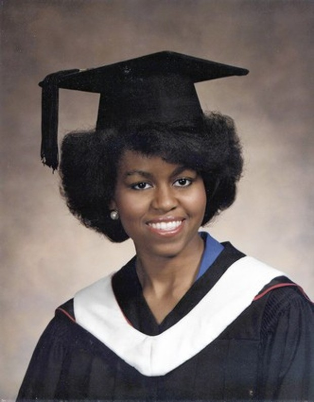 Michelle Obama Graduation Image