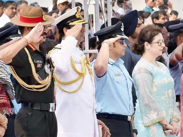 Sachin as IAF Captain