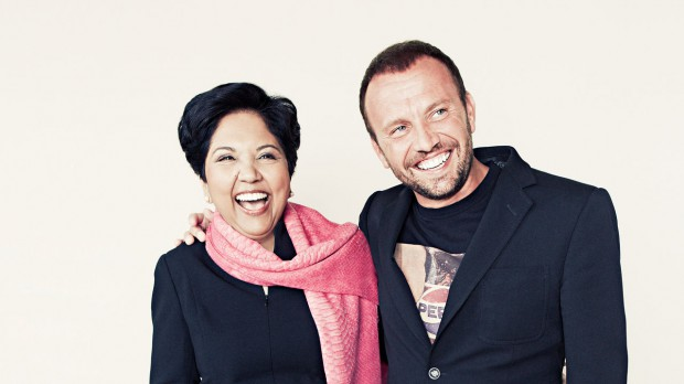 PepsiCo's Indra Nooyi And Mauro Porcini On Design-Led Innovation