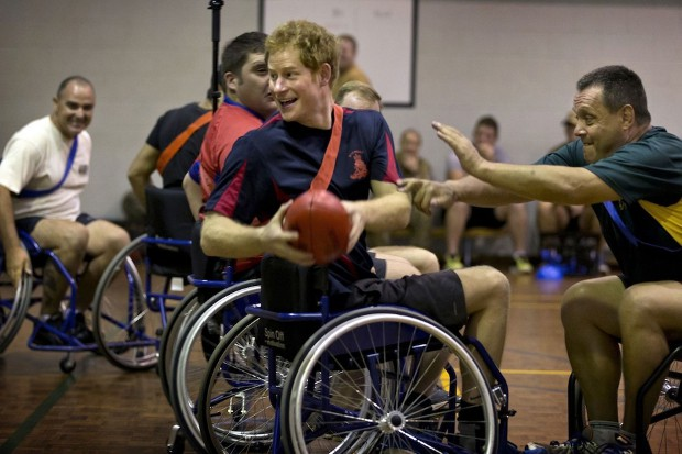 Harry Playing Wheelchair AFL