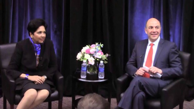 Indra Krishnamurthy Nooyi, Pepsi CEO, speaks at Smith School of Business