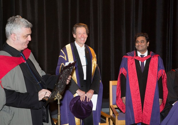 AR Rahman Honored with Doctorate in Music by Royal Conservatoire of Scotland