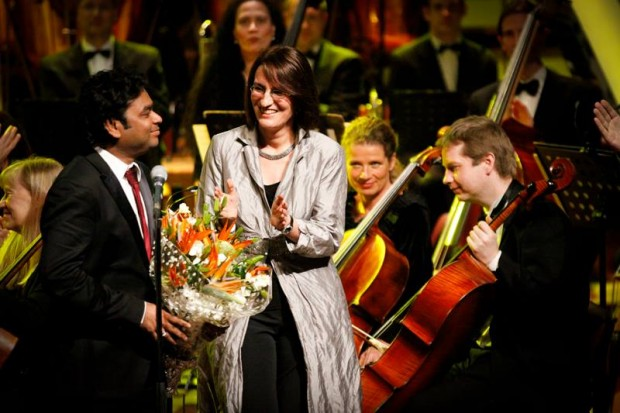Rahman at K M College, Germany